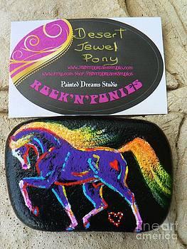 Rock 'N' Ponies - Desert Jewel Pony by Louise Green