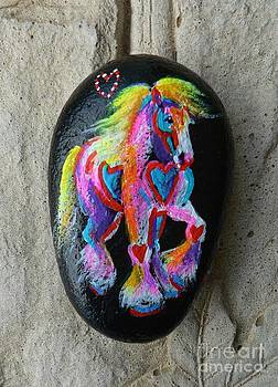 Rock 'N' Ponies - Gypsy Hearts Pony #2 by Louise Green