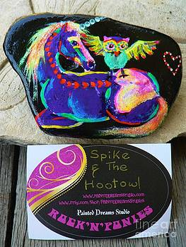 Rock 'N' Ponies - Spike and The Hootowl by Louise Green