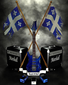 Rock n Roll crest - Quebec by Frederico Borges