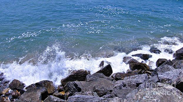 Rock Splash by Kae Art