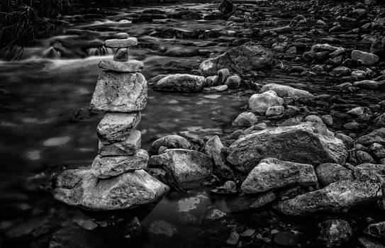 Ray Van Gundy - Rock Stack in Spearfish Creek