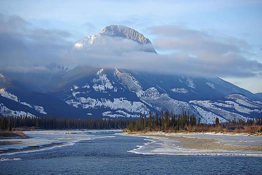 Rockies North of Jasper by Pete Hemington