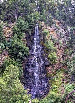 Rockies Waterfall by Robbie Clayton