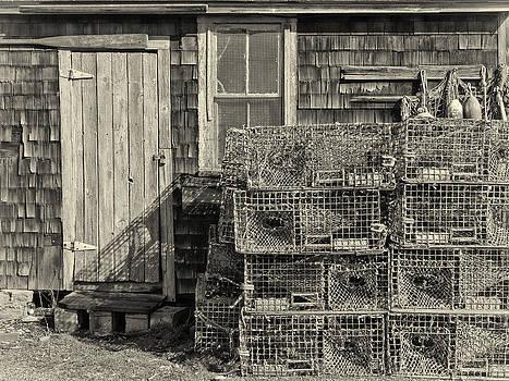 Rockport Fishing Shack by Nancy De Flon