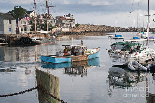 Rockport Harbor - 1 by John Hassler