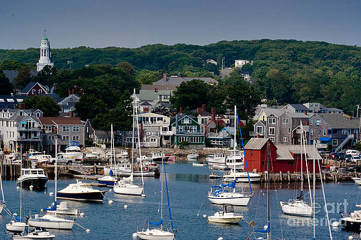 Rockport Harbor - 2 by John Hassler
