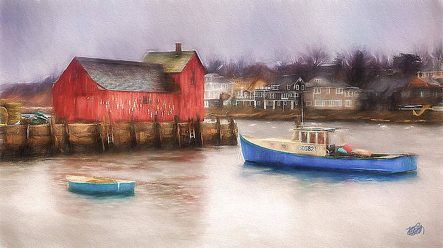 Rockport Harbor by Michael Petrizzo