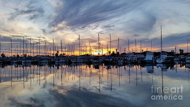Rockport Texas Docks by Milton Tarver