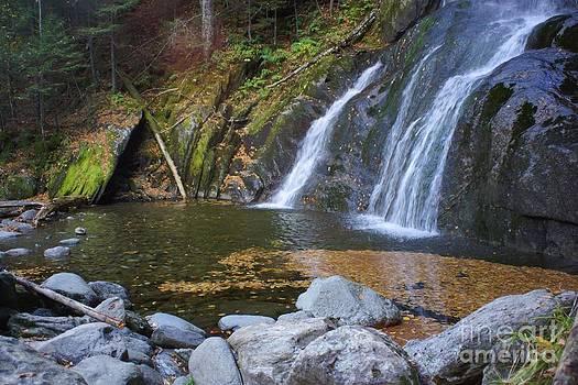 Rocks Falls Water New Hampshire by Tabatha Knox