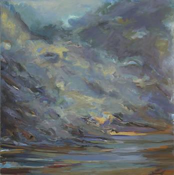 Rocks take the Wave by Ron Libbrecht