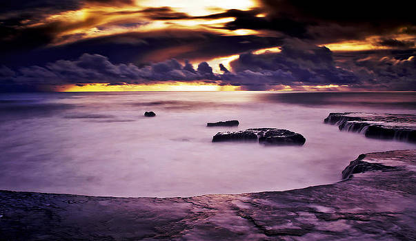 Rockview into the Clouds by Nick Borelli