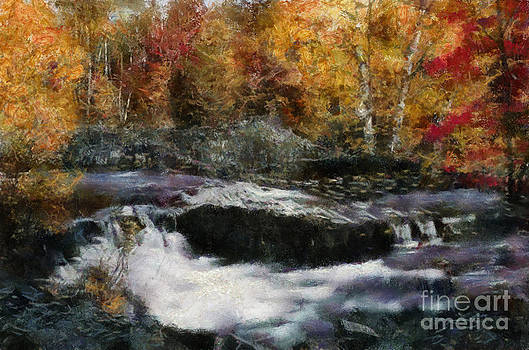 Scott B Bennett - Rocky Autumn Stream
