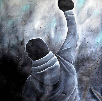 Rocky Balboa 3 by Holly Donohoe