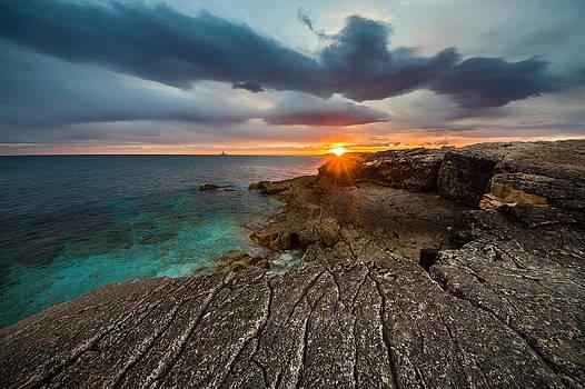Rocky beach II by Davorin Mance