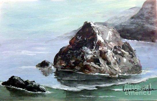Rocky Beach by Lynne Parker