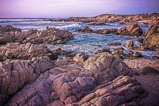 Rocky Beach Sunset by Bill Boehm