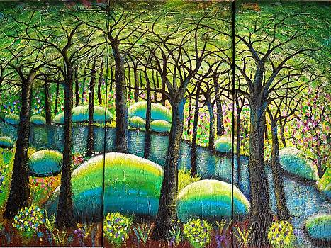 Rocky Creek by Shirley Smith