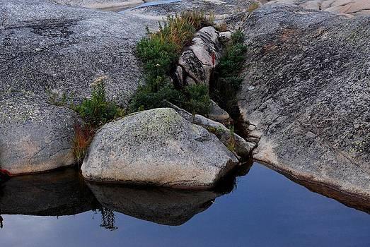 Rocky Landscape Art 1 by Carol Kay