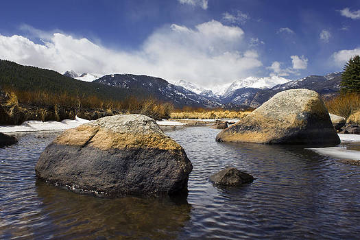 Rocky Mountain Creek by Bryant Coffey