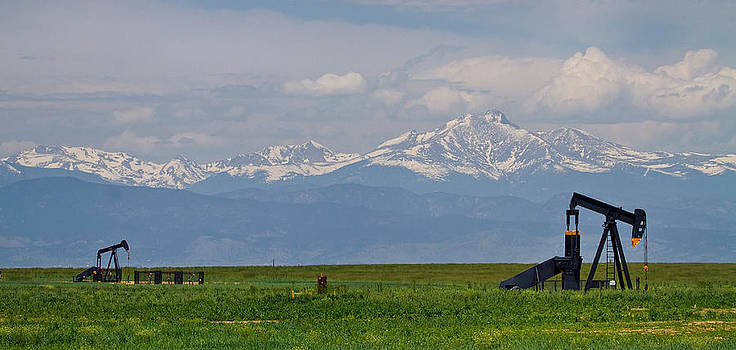 James BO  Insogna - Rocky Mountain Front Range Oil Panorama