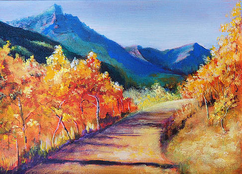 Rocky Mountain Road by Pamela Bergen