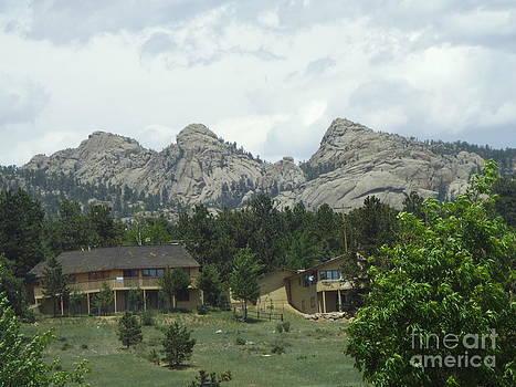 Rocky Mountains 1 by John Morris