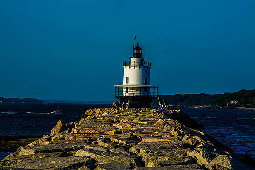 Rocky Path to Lighthouse by Jason Brow