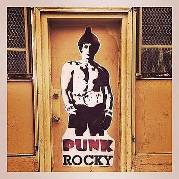 #rocky #posterart #graffitidoor #nolibs by John Baccile