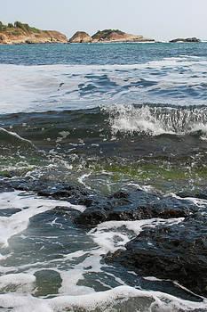 Rocky seascape by Diana Dimitrova