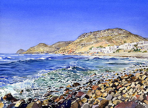 Rocky Shore by Margaret Merry