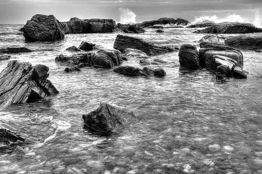 Rocky Shoreline by Derek Latta