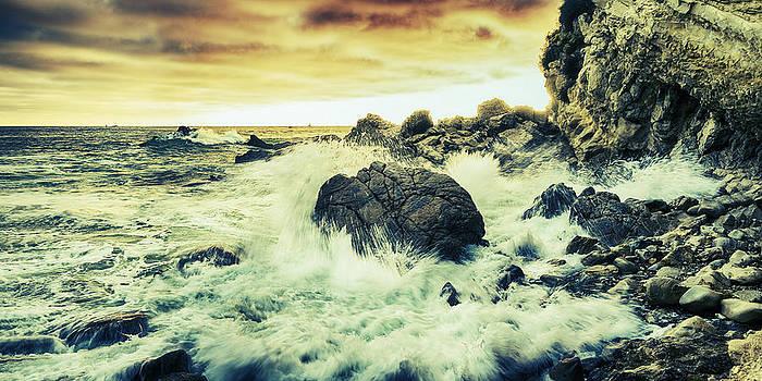 Rocky Shoreline by Nazeem Sheik