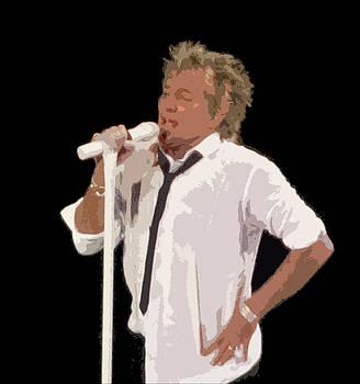 Rod Stewart In Concert by Melinda Saminski