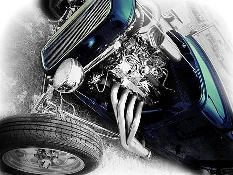 Rod White Blue by ROLLNSTEF Stef