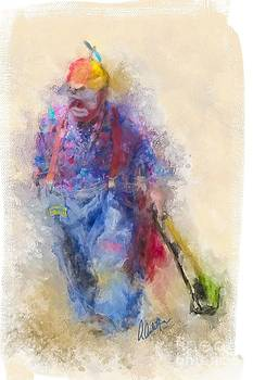 Rodeo Clown by Andrea Auletta