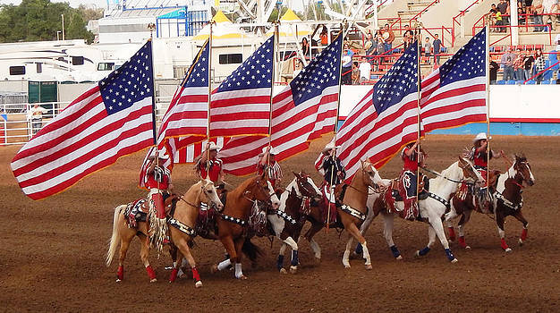Greeley Stampede Rodeo by Phyllis Britton