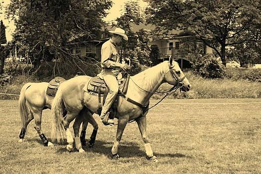 Rodeo Palomino by Amanda Struz