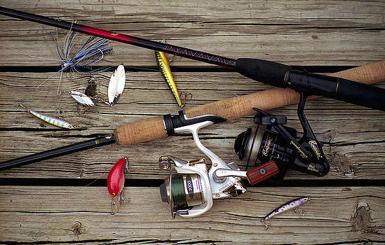Rods and Reels by Jack Thomas