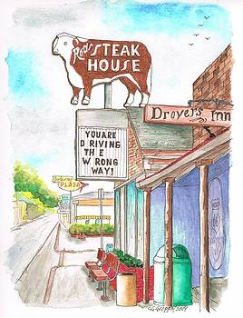 Rod's Steak House in Route 66 - Williams - Arizona by Carlos G Groppa