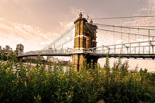 Randall Branham - Roebling Bridge from down under