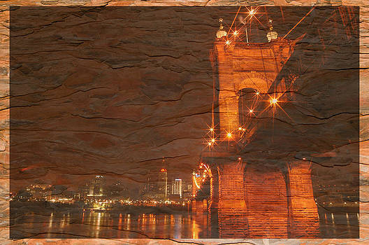 Randall Branham - Roebling Bridge Stone n Wood