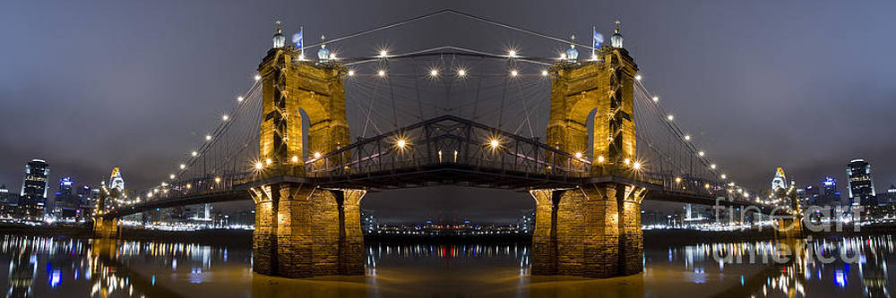Roebling Suspension Bridge by Daniel  Knighton
