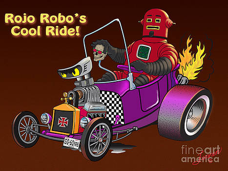 Rojo Robo's Cool Ride by Charles Fennen