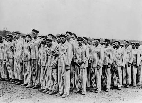 Roll Call At Buchenwald Concentration by Everett
