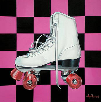 Roller Skate by Anthony Mezza
