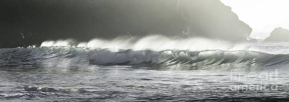 Landscape- Rolling Waves by Feryal Faye Berber