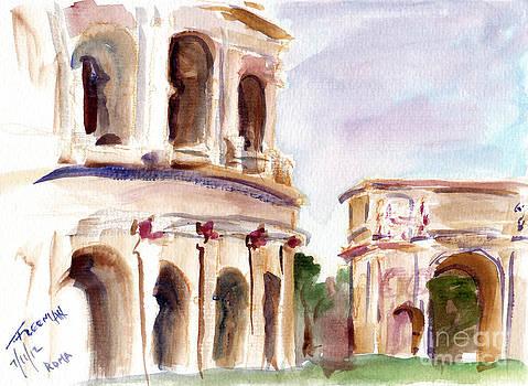 Valerie Freeman - Roma Coliseum