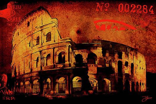 Roman Colosseum by Dancin Artworks