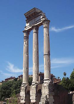 Roman Forum by David Nichols